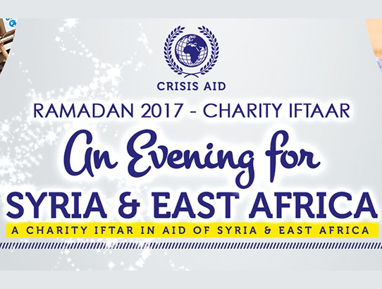 Ramadan Iftaar for Syria & East Africa